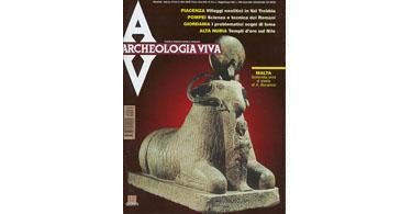 copertina rivista archeologia viva 75