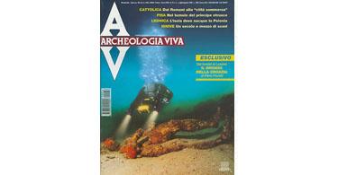 copertina rivista archeologia viva 76