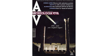copertina rivista archeologia viva 78
