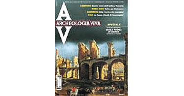 copertina rivista archeologia viva 79