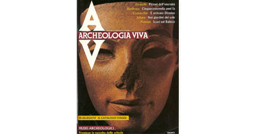copertina rivista archeologia viva 8