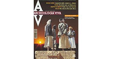 copertina rivista archeologia viva 81