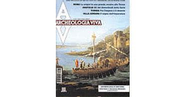 copertina rivista archeologia viva 83