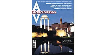 copertina rivista archeologia viva 84