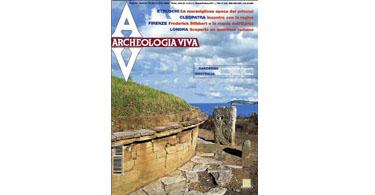 copertina rivista archeologia viva 85