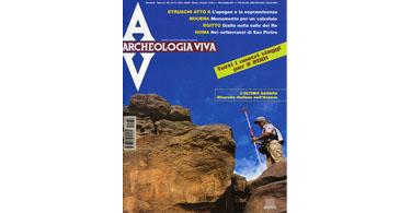 copertina rivista archeologia viva 86