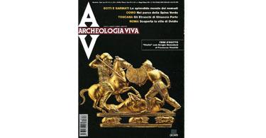 copertina rivista archeologia viva 87