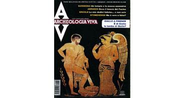 copertina rivista archeologia viva 88