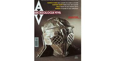 copertina rivista archeologia viva 89