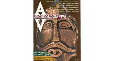 copertina rivista archeologia viva 9