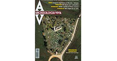 copertina rivista archeologia viva 90