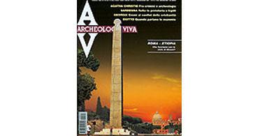 copertina rivista archeologia viva 91