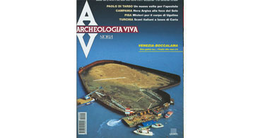 copertina rivista archeologia viva 92