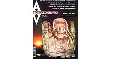 copertina rivista archeologia viva 93