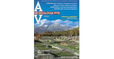 copertina rivista archeologia viva 94