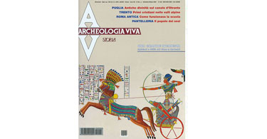 copertina rivista archeologia viva 95