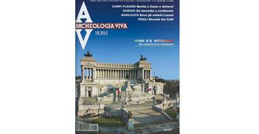 copertina rivista archeologia viva 96