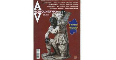 copertina rivista archeologia viva 97