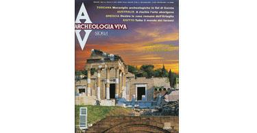 copertina rivista archeologia viva 98