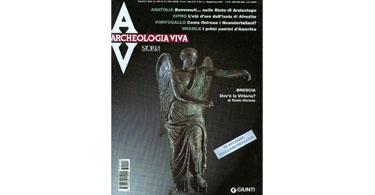 copertina rivista archeologia viva 99