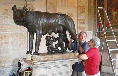 Lupa Capitolina: antica? Sì! Anzi… medievale