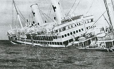 Sul relitto del Po: la tragedia della nave ospedale italiana