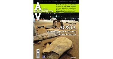 copertina rivista archeologia viva 180