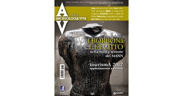 copertina rivista archeologia viva 181