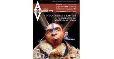 copertina rivista archeologia viva 184