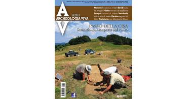 copertina rivista archeologia viva 185