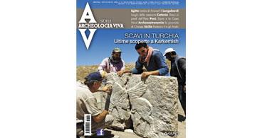 copertina rivista archeologia viva 186