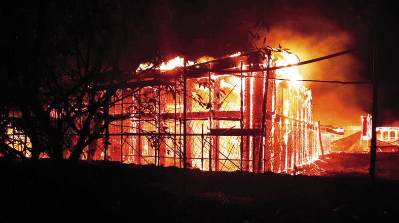 Incendio faragola