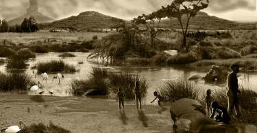 impronte umane gombore - Etiopia: scoperte orme di bambino di 700 mila anni fa