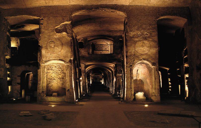 Catacombe di San Gennario a Napoli