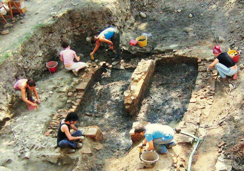 Scavi archeologici a Nonantola: la fornace altomedievale