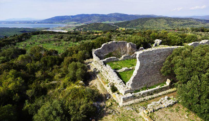 Panoramica dell'Acropoli di Cosa/Ansedonia