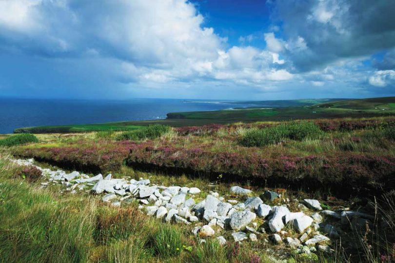 Céide Fields in Irlanda