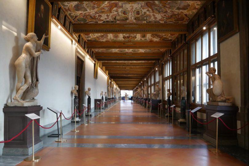 Uffizi: nuova luce sulle statue antiche