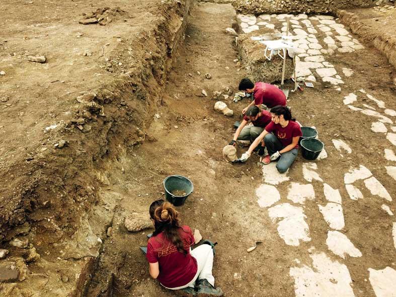 l'antica città laziale di Aquinum