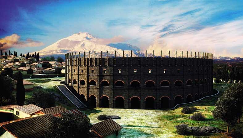 Catania. Sicilia romana
