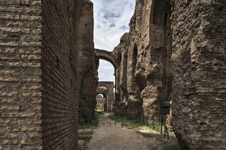 Le architetture monumentali del complesso severiano sul Palatino a Roma