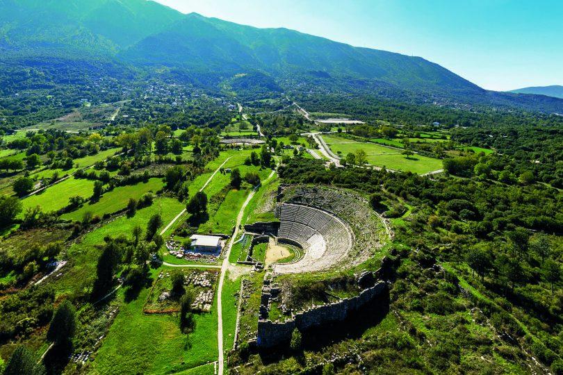L'anfiteatro di Dodona (Grecia)
