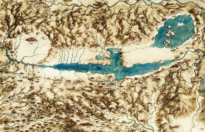 Leonardo da Vinci: geniale anche con l'acqua
