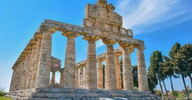 Tempio di Athena a Paestum